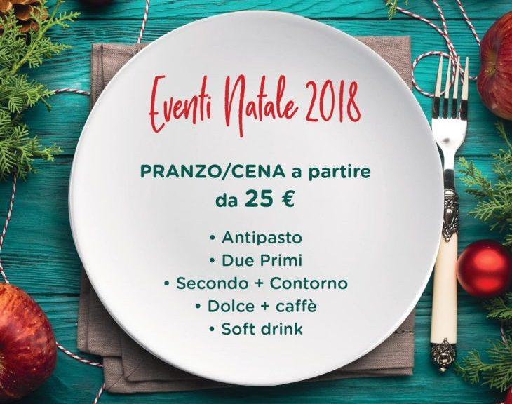 Offerta pranzo di Natale 2018